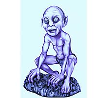 Gollum - Lord of the Rings Photographic Print