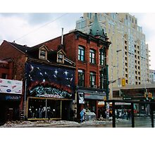 City of Angels (Queen West & Spadina, Toronto, Ontario, Canada, March 2007) Photographic Print