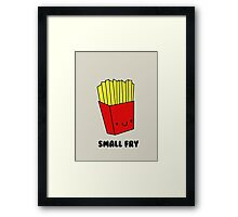 Small Fry Framed Print