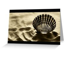 Shell Shocked Greeting Card