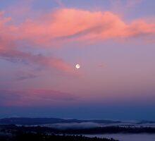 Sunrise - Moonset by craigNdi