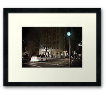 Midnight chaos Framed Print