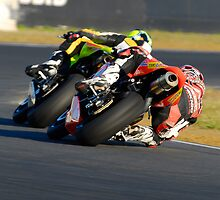 Towing the Line - Superbikes by Brett Whinnen