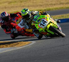 Hot on His Heels - Superbikes by Brett Whinnen
