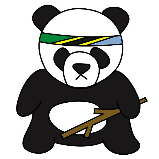 Tanzanian Battle Panda by Xavier Shay