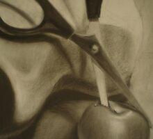 Apple Slice by Adrienne Borders