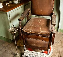 The Old Barber's Chair by DavidsArt