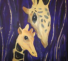"""Giraffe love"" (2007) by Anna"