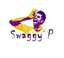 Swaggy P Stencil Design by nbatextile