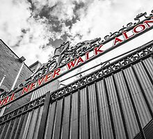 Anfield - The Shankly Gates by Paul Madden