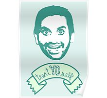 Treat Yo Self - Tom Haverford - Parks and Rec Poster