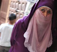 Woman at souk, Fes by GregB