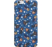 ragtag american dream team [blue] iPhone Case/Skin