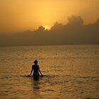 Island shiloette by Ana Thomas