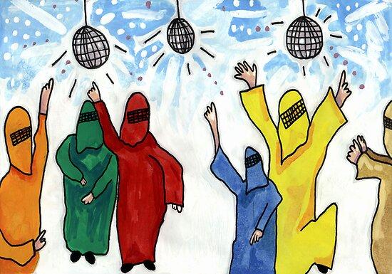 Burqa Disco by John Douglas