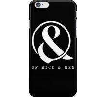 Of Mice & Men Ampersand Logo Merch iPhone Case/Skin