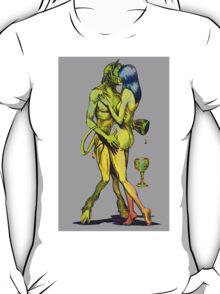 Erotic art hot sex in brillant vibrant colours T-Shirt