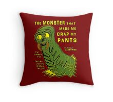 The Monster That... Throw Pillow