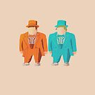 Harry & Lloyd by Messypandas