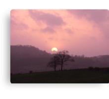 Kendal Sunset Canvas Print