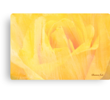 Petals ~ Painted with a Broad Brush Canvas Print