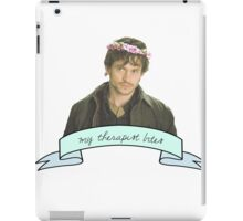 Will Graham's therapist really.......... bites iPad Case/Skin