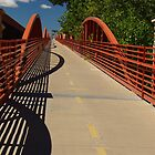 Bike Bridge by Loree McComb