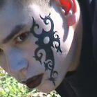 Gothic Teen Guy. by Karen Power
