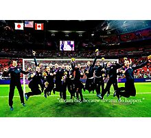 dream big; alex morgan (USWNT) Photographic Print