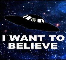 I Want to Believe 2014 V1 ( Duvets ) by PopCultFanatics