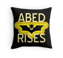 Abed Rises Throw Pillow