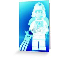 TMNT Teenage Mutant Ninja Turtles Master Shredder Custom Minifigure  Greeting Card
