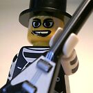 Guitarist Custom Minifigure with Guitar by Chillee