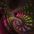 Peacock Swirl by lacitrouille