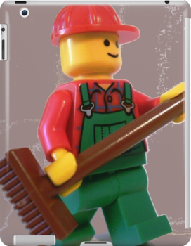 City 'Bert the Street Cleaner' Minifigure by Chillee
