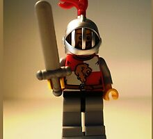 'Lion Knight Quarters' Minifigure  by Chillee