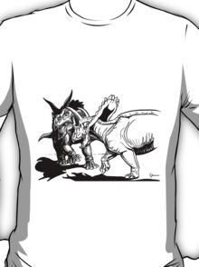 Dueling Triceratops T-Shirt
