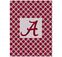 Alabama Crimson Tide-Twin Duvet Cover, Pillow,  Phone Cases, IPad Cases, Laptop Skins, and Mugs by super221Bwolf