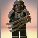 TMNT Teenage Mutant Ninja Turtles Master Shredder Custom Minifigure 'Customize My Minifig' by Chillee