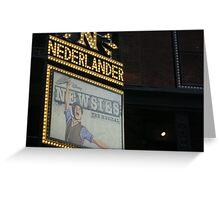 Newsies Marquee  Greeting Card