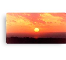 Gurnard Sunset Canvas Print