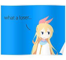 Nisekoi Chitoge loser Poster