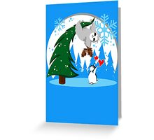 Sloth and Friend Holiday Greeting Card