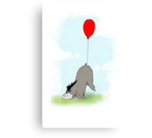 Eeyore and his Tail Canvas Print