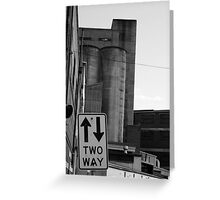 Nylex Silo v.2 Greeting Card