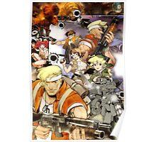 Metal Slug Reproduction Poster Poster