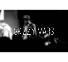 Skizzy Mars Poster Photographic Print