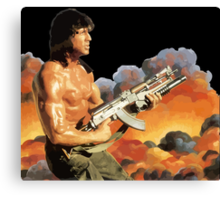 Rambo. Against the world. Canvas Print