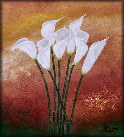 Cala Lily's by Peggy Garr
