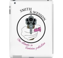 The ultimate in feminine protection iPad Case/Skin